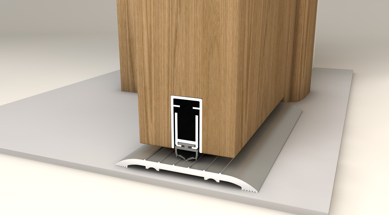 Nor810s 174 Acoustic Door Bottom Seals By Norsound