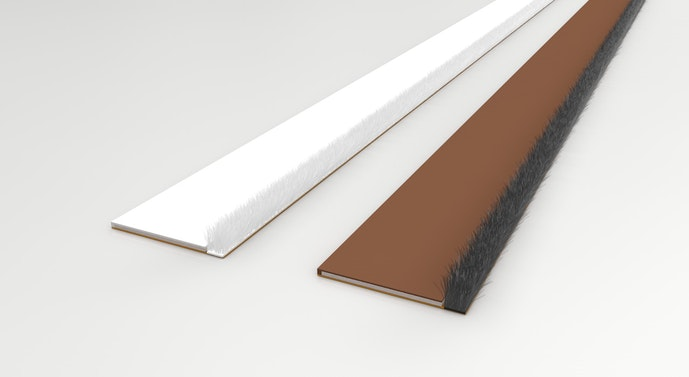 Surface Mounted Intumescent Brush Intumescent Seal Norseal