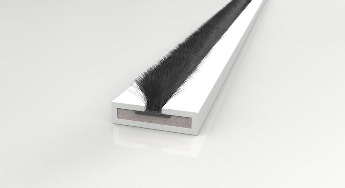 Fire Door Strips >> Lorient Intumescent Brush Strip| Intumescent Seals